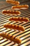 Geroosterde Worst, Hotdog Royalty-vrije Stock Afbeeldingen