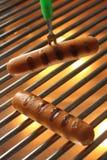 Geroosterde Worst, Hotdog Stock Fotografie