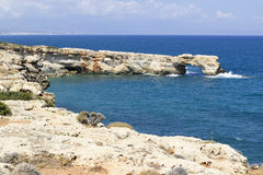 Geropotamos Arch beach, Crete Stock Photo