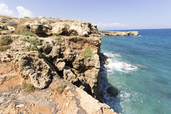 Geropotamos Arch beach, Crete Royalty Free Stock Photography