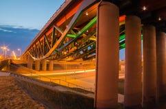 Gerosios vilties viaduct in Vilnius Royalty Free Stock Photos
