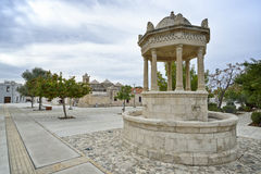 Geroskipou kwadrat, Cypr Fotografia Stock