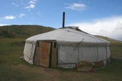 Gerr in Mongolië. royalty-vrije stock foto