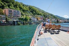 "Gerra - Gambarogno, †de Suíça ""24 de junho de 2015: Wi dos passageiros Imagens de Stock Royalty Free"