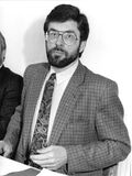 Gerry Adams Stock Photo