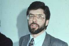 Gerry Adams Stock Photos