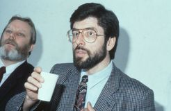 Gerry Adams Stock Photography