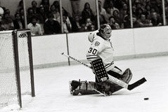 Gerry Cheevers Boston Bruins Stock Photo