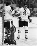Gerry Cheevers Boston Bruins Stock Photos