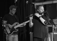 Gerry Paul und das Elefant-Band Lizenzfreie Stockfotos