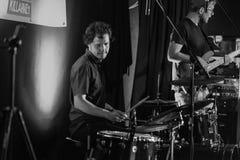 Gerry Paul und das Elefant-Band Stockfotografie