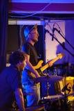 Gerry Paul und das Elefant-Band Stockfoto