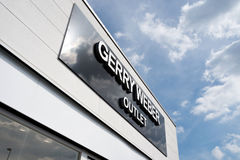 Gerry Weber Outlet Store Royalty Free Stock Image