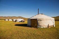 gers Монголия Стоковая Фотография