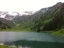 Gers. Lac - mountain - Samoens Royalty Free Stock Image