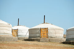 Gers, Mongolia Royalty Free Stock Photography