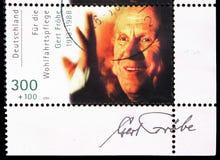 Gert Frobe, benessere: Serie internazionale degli attori di film, circa 2000 immagini stock libere da diritti