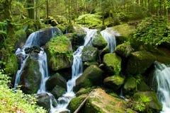 Gertelbach Waterfalls Stock Photography