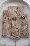 Gertrud von Helfta, Hildegard von Bingenwhile and Mechthild von Hackeborn Royalty Free Stock Images