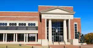 The Gertrude Castellow Ford Center on the campus of Ole Miss Stock Photo