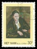 Gertrude Stein durch Pablo Picasso Lizenzfreie Stockfotos