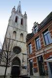Gertrude van de kerstman kerk Leuven België Stock Foto