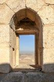Geruïneerd kasteel Shobak Royalty-vrije Stock Foto