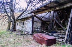 Geruïneerd oud huis Stock Fotografie