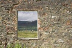 Geruïneerd venster Royalty-vrije Stock Fotografie
