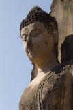 Geruïneerde Boedha in Wat Phra Si Ratana Mahaphat, Si Satchanalai, Thailand Stock Afbeeldingen