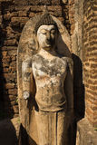 Geruïneerde Boedha in Wat Phra Si Ratana Mahaphat, Si Satchanalai, Thailand Royalty-vrije Stock Fotografie