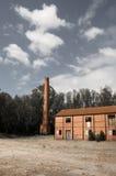 Geruïneerde gebouwen Royalty-vrije Stock Foto