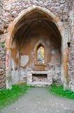 Geruïneerde kapel Royalty-vrije Stock Afbeeldingen