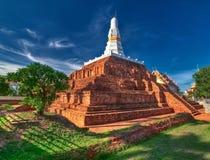 Geruïneerde oude Boeddhistische pagode Royalty-vrije Stock Afbeeldingen