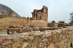 Geruïneerde stad van Bhangarh Royalty-vrije Stock Fotografie