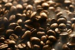 Geruch der Kaffeebohnen Stockfoto