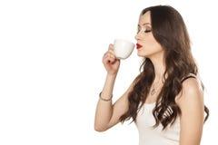 Geruch des Kaffees Lizenzfreies Stockfoto