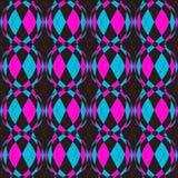 Geruit circelspatroon vector illustratie