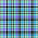 Geruit Schots wollen stof naadloze achtergrond royalty-vrije illustratie