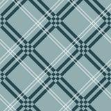 Geruit Schots wollen stof, plaid Naadloos patroon, diagonale achtergrond Behang, verpakkend document, textiel Retro stijl Manieri royalty-vrije illustratie