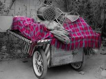 Geruit Schots wollen stof voor iedereen Stock Afbeelding