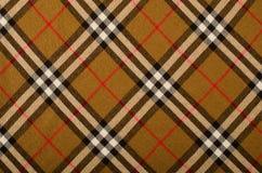 Geruit Schots wollen stofpatroon Asymmetrisch vierkant patroon Royalty-vrije Stock Afbeelding