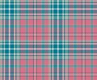 Geruit Schots wollen stofplaid Royalty-vrije Stock Afbeelding