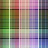Geruite geometrische helder van het plaid naadloze patroon royalty-vrije illustratie