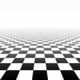 Geruite perspectiefachtergrond royalty-vrije illustratie