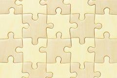 Geruite puzzel Stock Foto