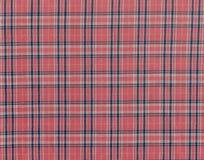 Geruite rode textuur royalty-vrije stock afbeeldingen