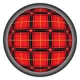 Geruite Schotse wollen stof vector illustratie