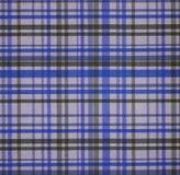 Geruite Schotse wollen stof Stock Foto