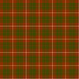 Geruite Schotse wollen stof Royalty-vrije Stock Foto